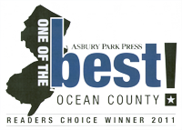 Asbury Park Press Readers Choice Award